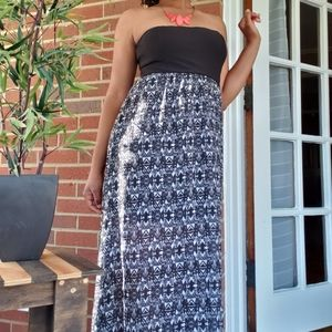 Wet Seal Tribal Print Maxi Dress